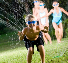 Backyard Splash Party